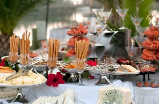 Questions to Ask Destination Wedding Caterer about Food