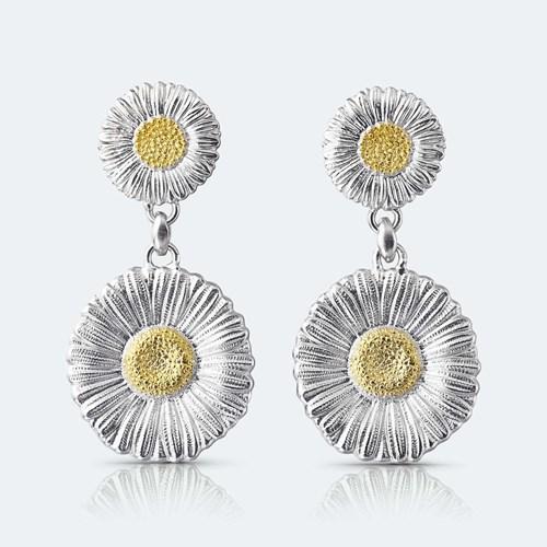 Daisy Pendant Earrings