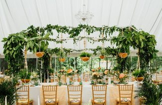 Green Inspirations For Your Wedding Venue