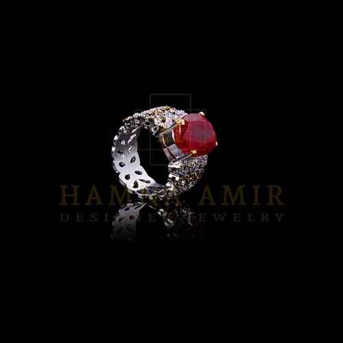 American Zircon Ruby Ring