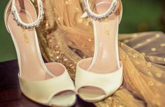 Stepping Up the Heel Game For Your Wedding Day!
