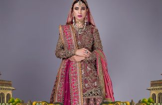 "Fahad Hussayn's ""Hoshruba"" Bridal Collection Will Raise the Royal Bride in you"