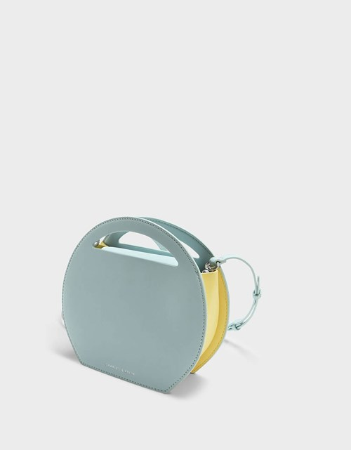 Round Crossbody Bag - Charles & Keith