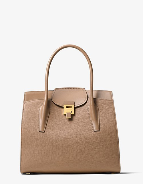 Bancroft Pebbled Calf Leather Weekender – Michael Kors