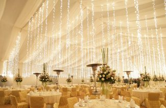 Light Up Your Wedding With These Creative Fairy Light Décor Ideas!