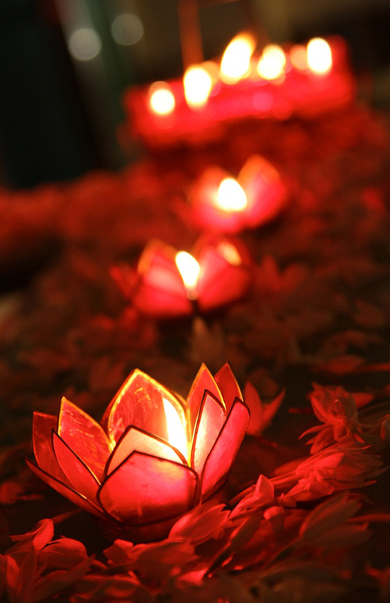 3.Lotus Candle Holders