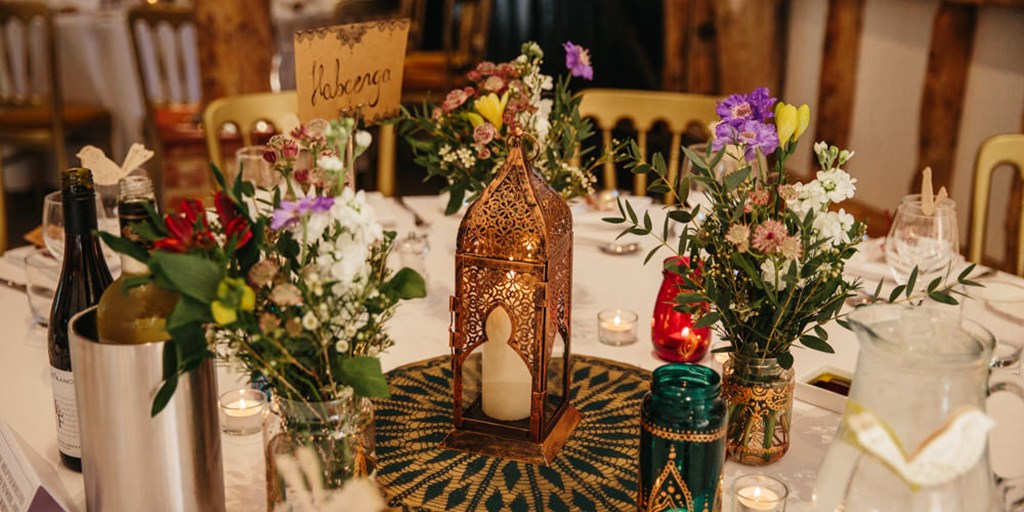 Weddings Around the World: Moroccan Centerpieces and Table Decor Perfect for Your Desi Wedding