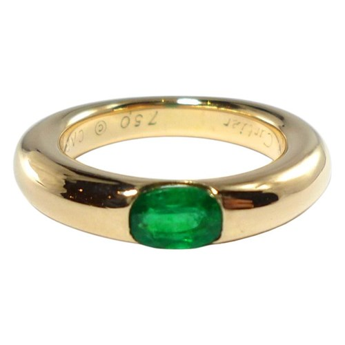 Ellipse Emerald Ring