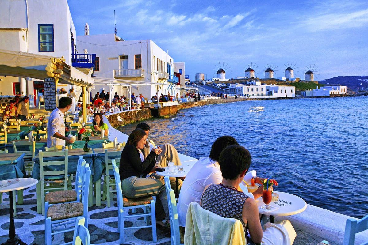 8.	Mykonos, Greece