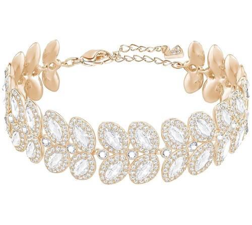 Swarovski Baron Bracelet White Rose Gold