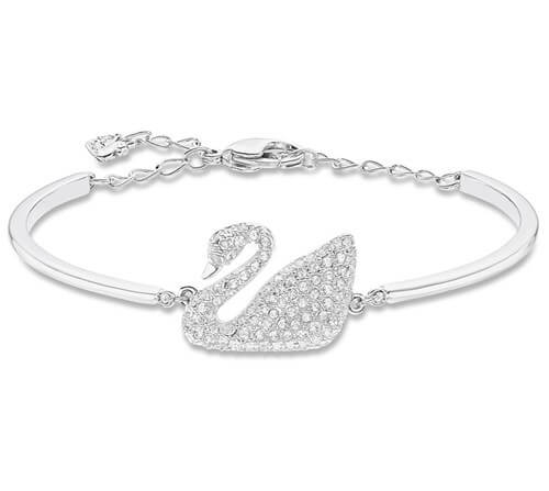 Swarovski Swan Bangle