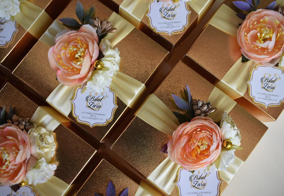 5 Pakistani Vendors You Must Opt For Your Wedding Favors