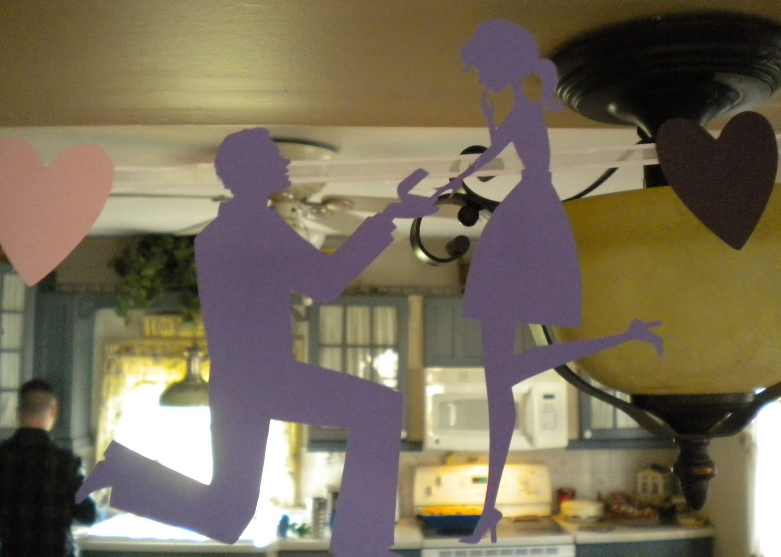 4.Paper Cutout Portraying the Couple