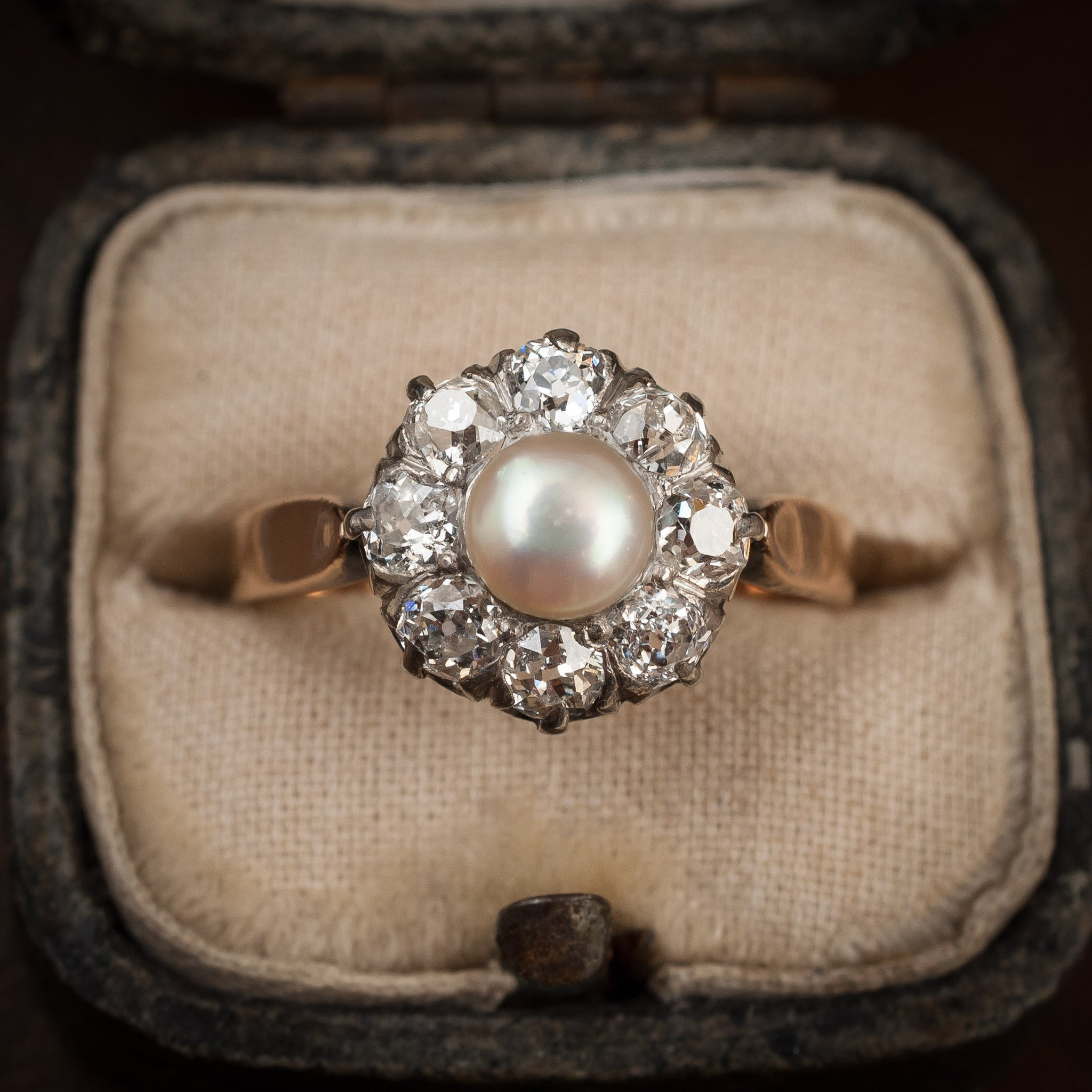 15 Pearl Engagement Rings For Timeless, Modern Day Bride