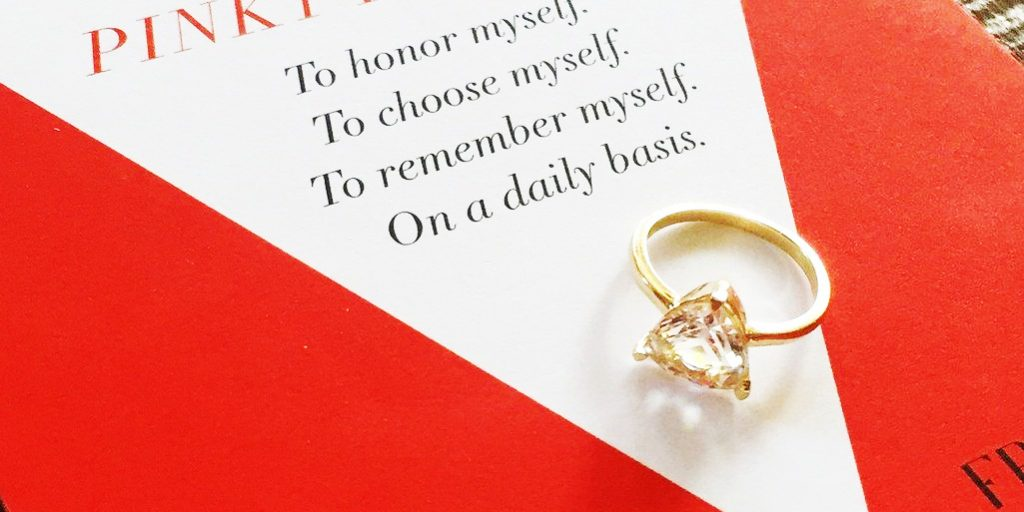 This Jewelry Store Took Self-Love To Another Level: Introducing The Self Love Pinky Ring!