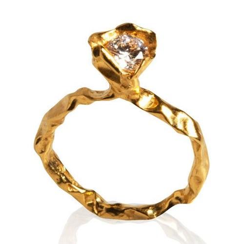 Crush Diamond Ring by Niza Huang