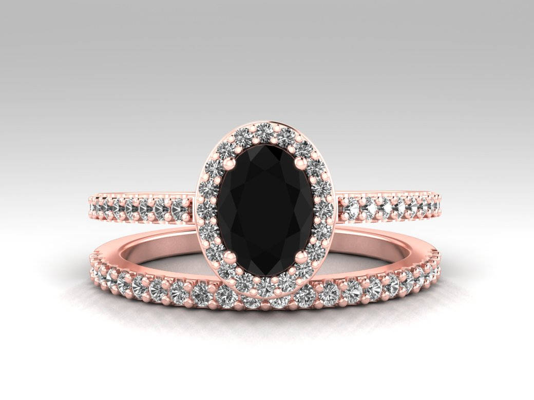 The Growing Trend of Black Stone Engagement Rings