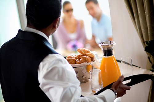 6.	You are Privileged to Have Room Service!