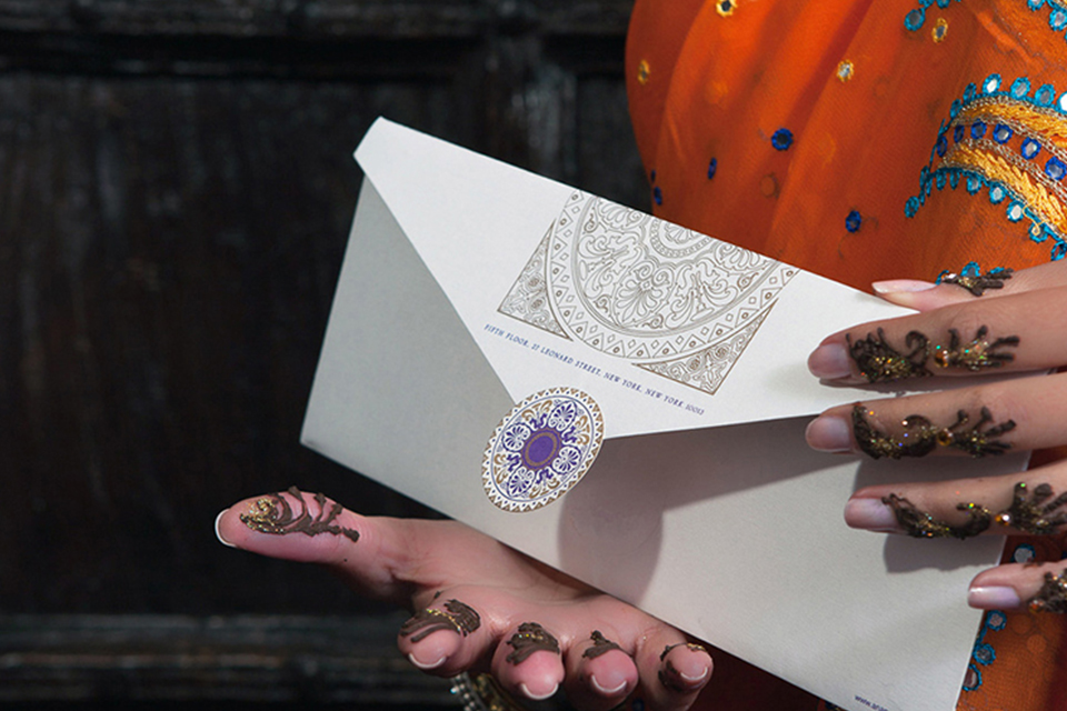 9.	Stationery for Mehendi
