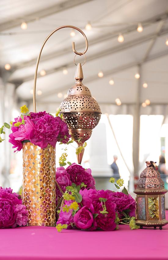 12.Moroccan Hanging Table Lanterns