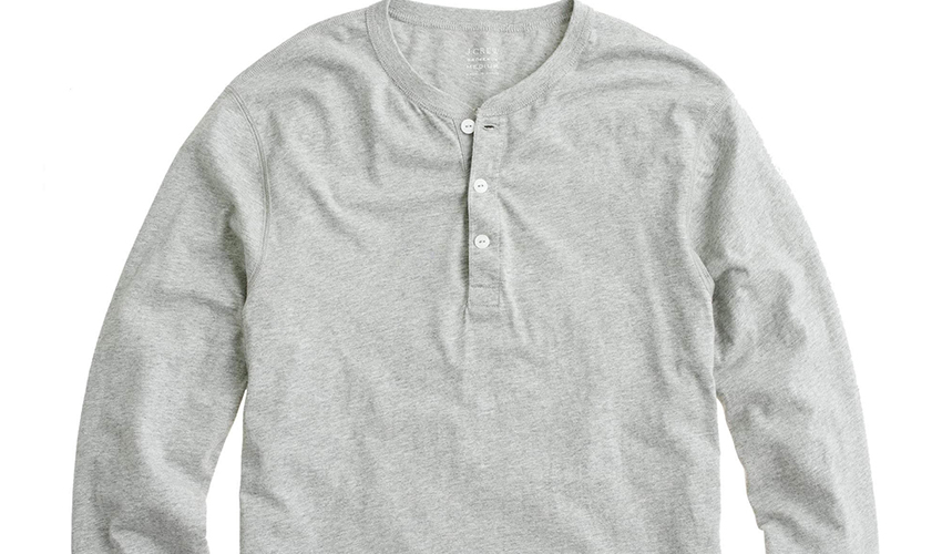 4.One thick shirt for chilly restaurants