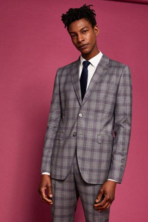Debonair Checked Suit by Ted Baker