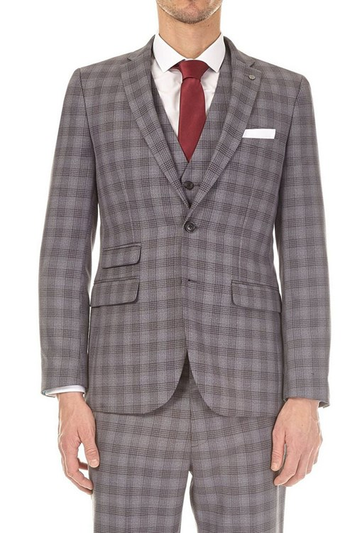 Black and Grey Burton Suit