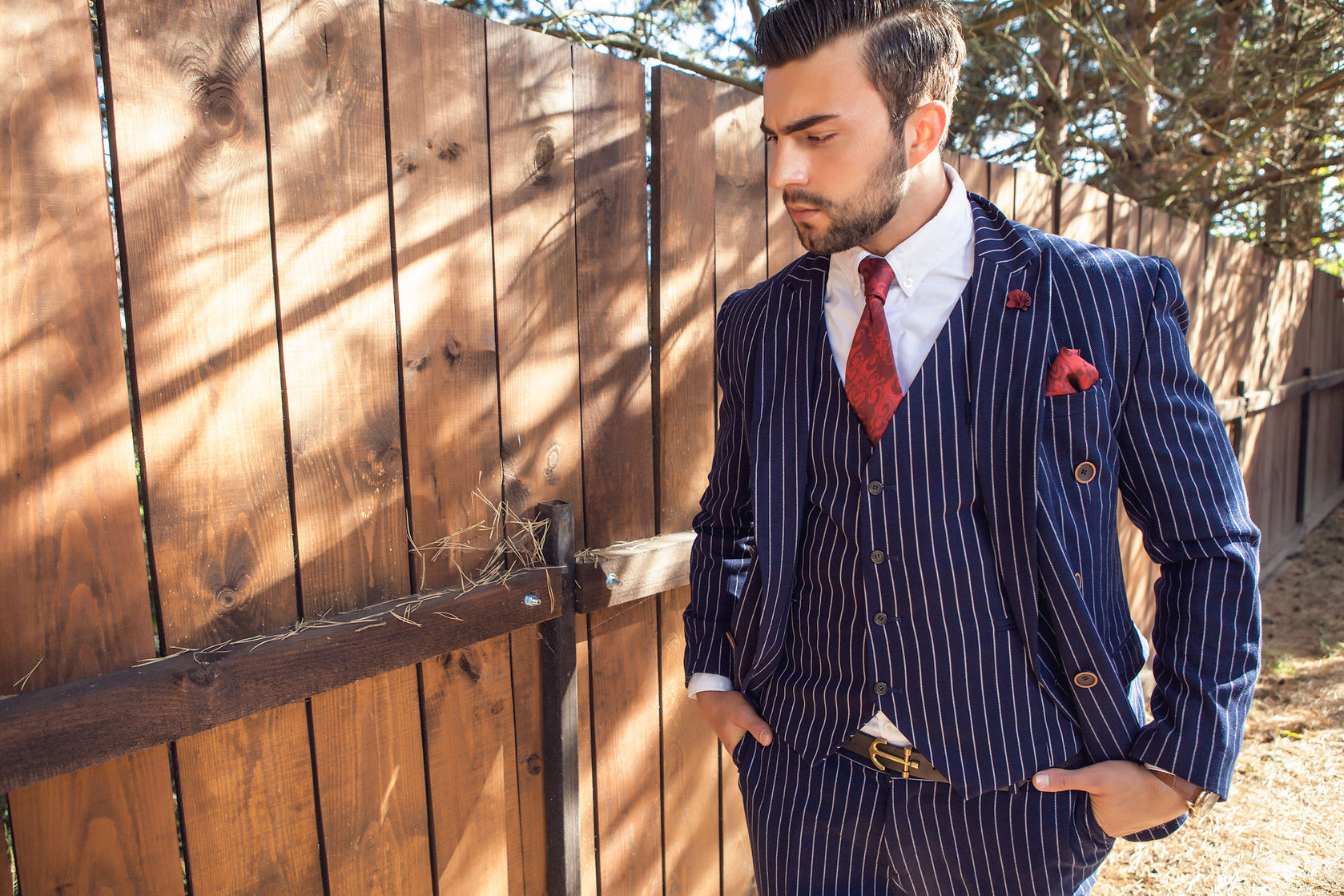 Trending Patterned Suits For The Grooms