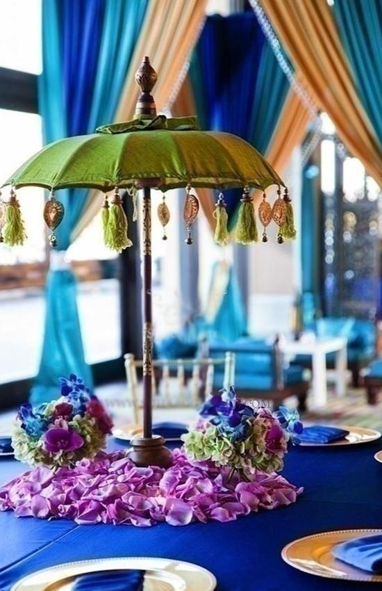 15.Moroccan Umbrella