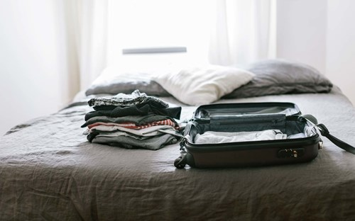 8.	You Pack and Unpack Only Once!