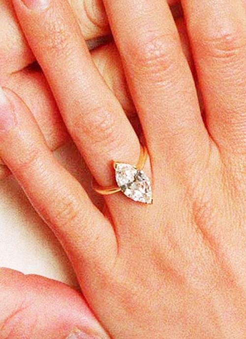 1998 - Marquise Cut Diamond Ring, $85,000