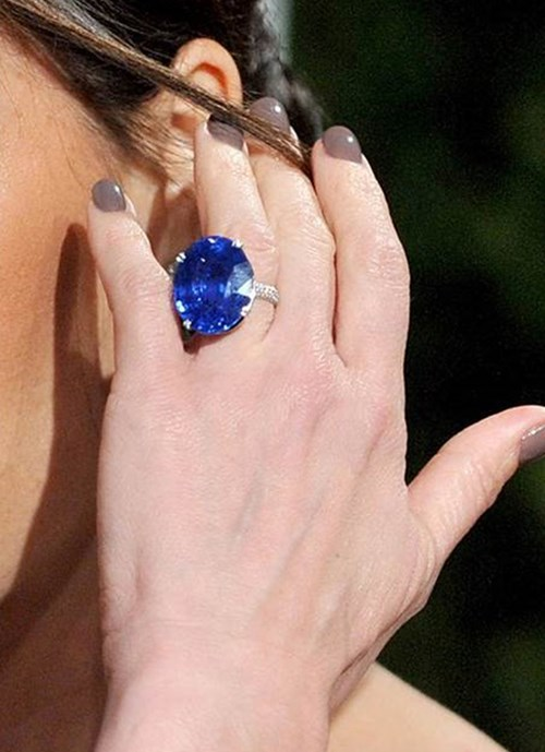 2010: Oval Cut Sapphire Ring