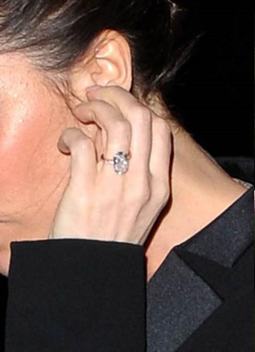 2010: Oval Cut Pink Diamond Ring