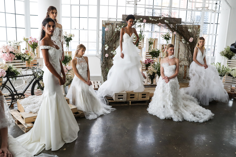 Wedding Dress Inspiration From New York Bridal Fashion Week 2018