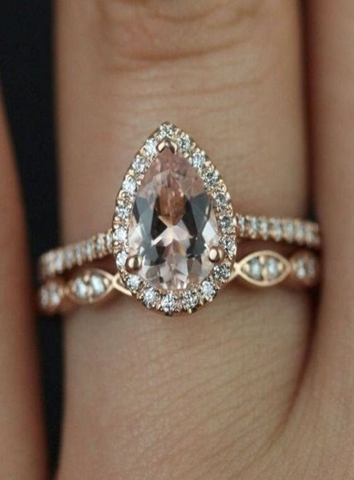 Pear-Shaped and Marquise-Cut Diamonds