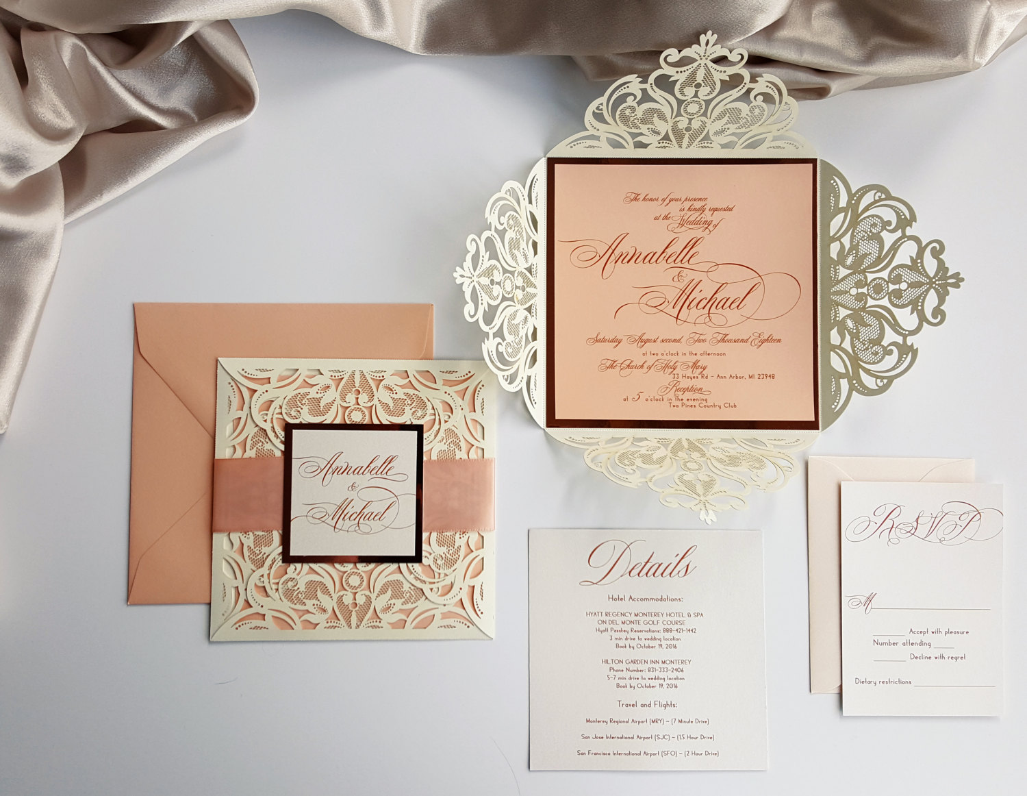 5 Calligraphy-Decorated Wedding Details That We Love