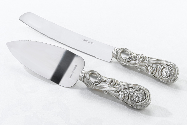 Anniversary Gifts for Women: Cake Knife & Server Set