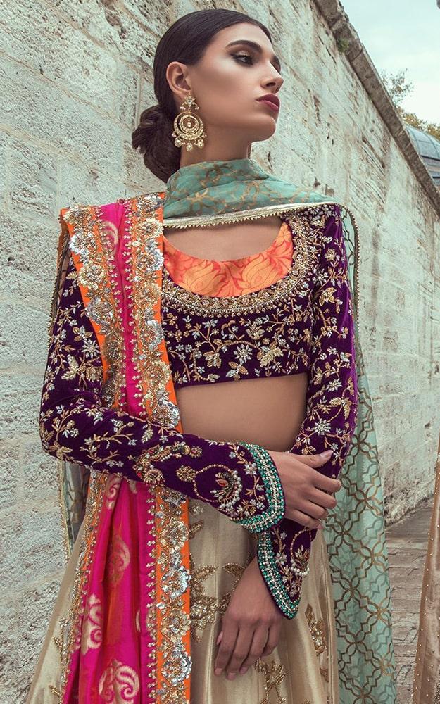 Plum Bridal Dress