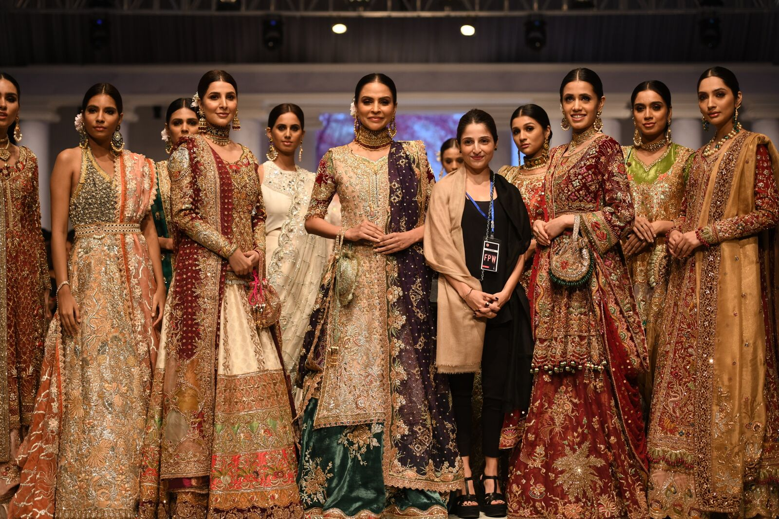 Rara Avis; Tena Durrani's Latest Bridal Collection Is One of a Kind