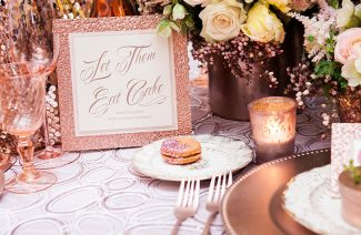 Rose Gold Is Perfect For Having A Statement Wedding