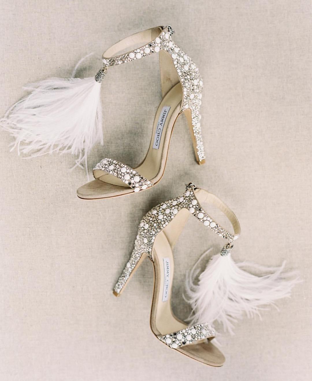 Bridal Heel with Fur