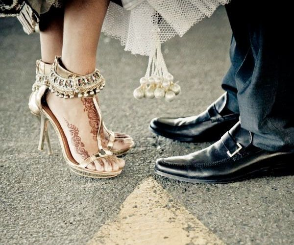 Tips for wearing Bridal heels