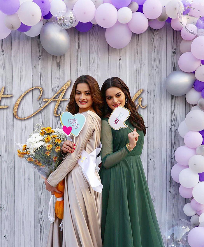 Let's Take A Look At All Of Aiman Khan's Wedding Dresses