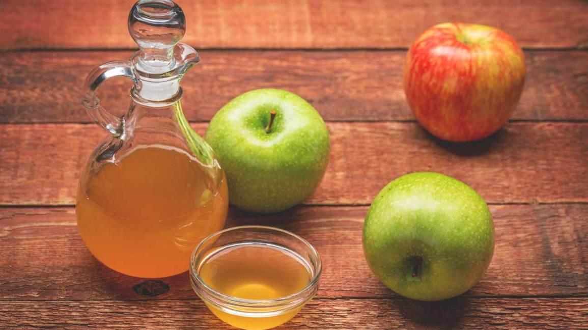 Apple Cider Vinegar is good in teeth whitening