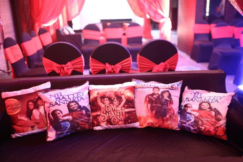 Bollywood wedding decor