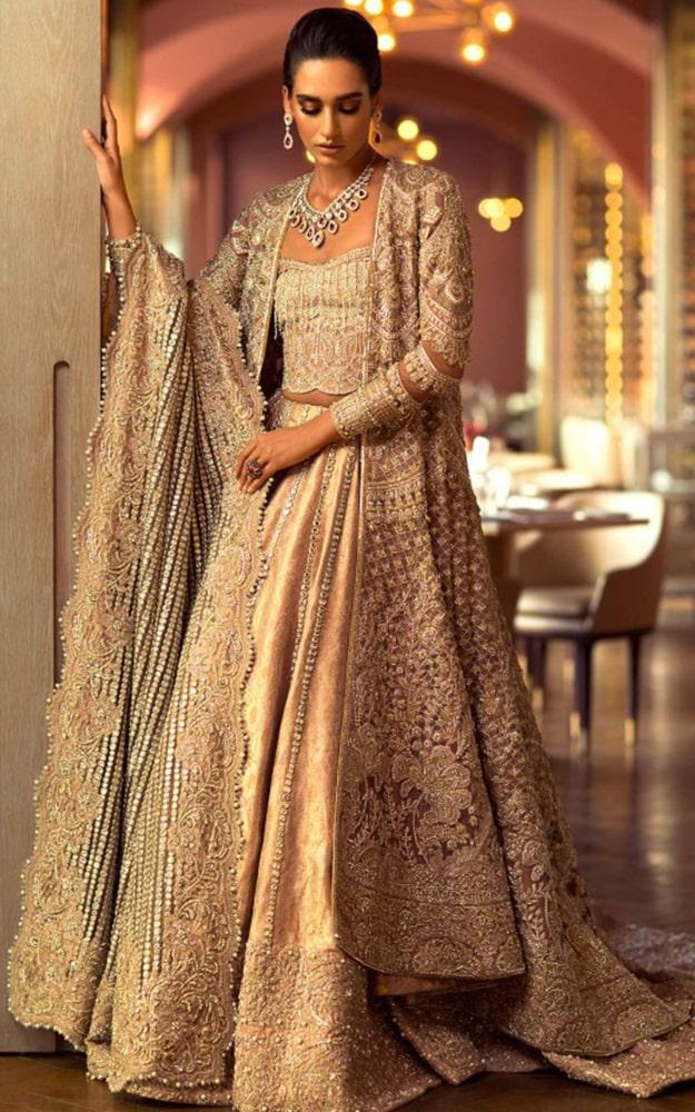 Champagne Bridal Dress
