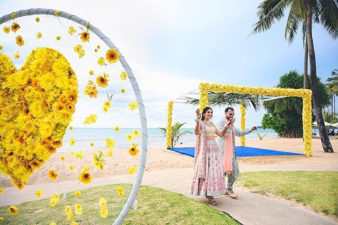 Wedding Color Theme for outdoor decor