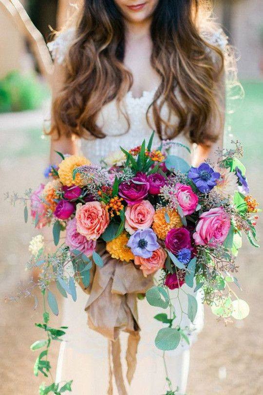 Colourful Flower Bouqet