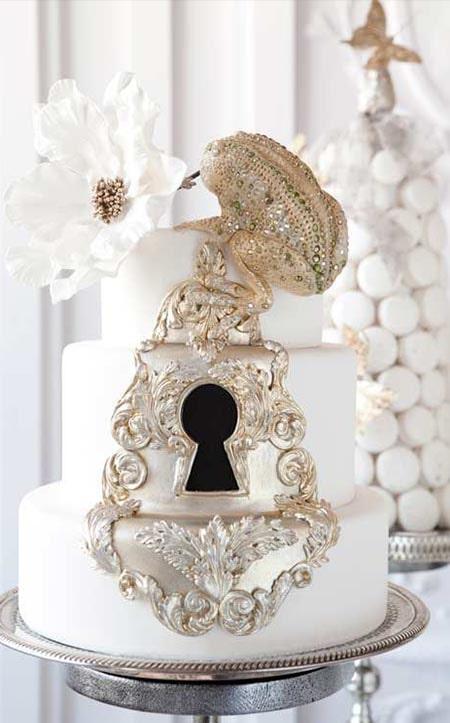 Disney wedding theme Cake