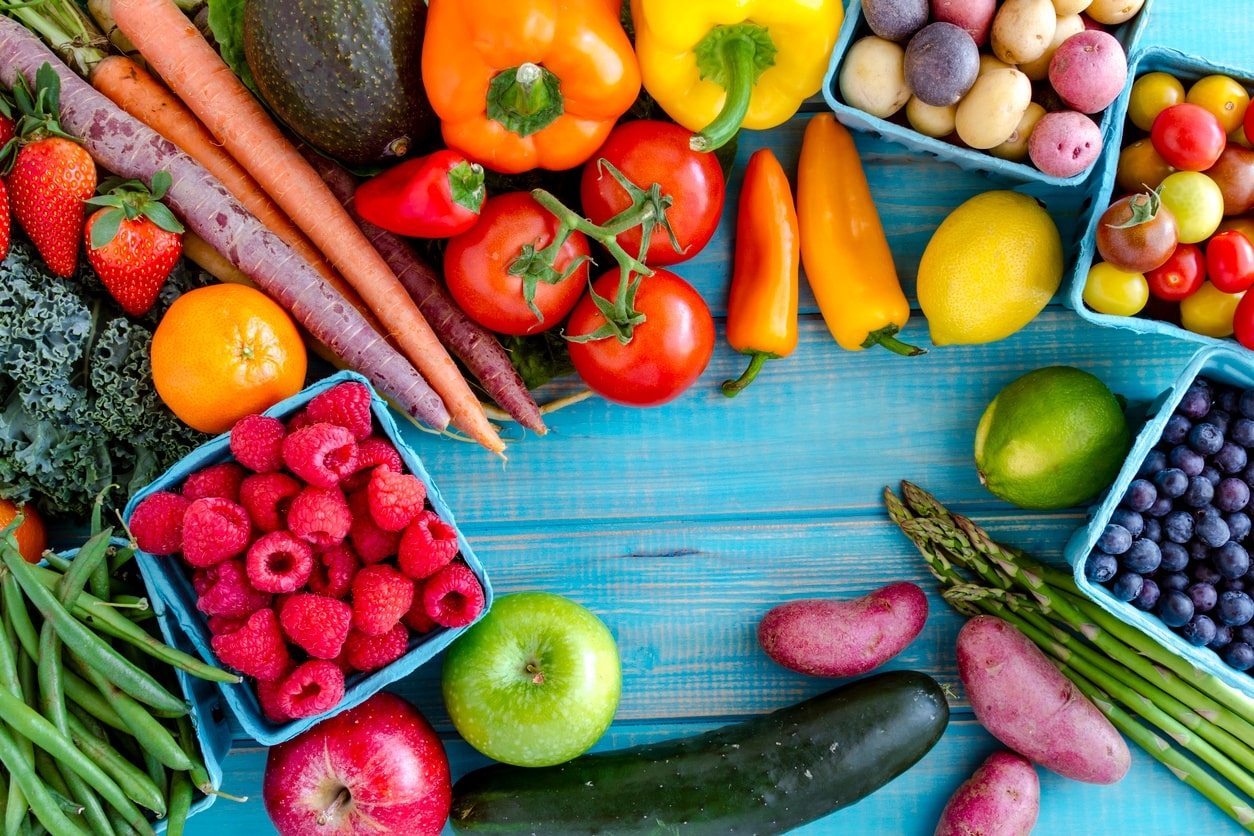 Eat Fresh Fruits and Vegetables for healthy Teeth